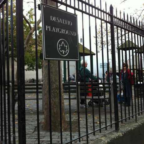 Photo of Desalvio Playground in NoLita, New York