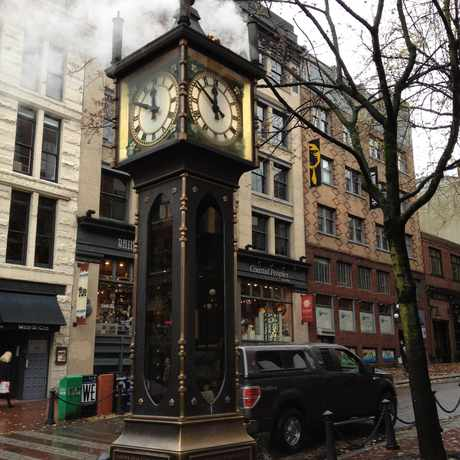 Photo of The Gastown Steam Clock in Downtown, Vancouver