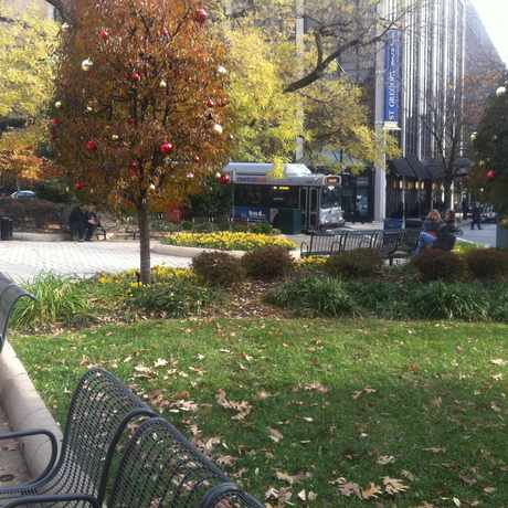 Photo of Park in Dupont Circle, Washington D.C.
