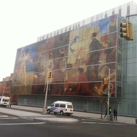 Photo of Harlem Hospital Center in Central Harlem, New York