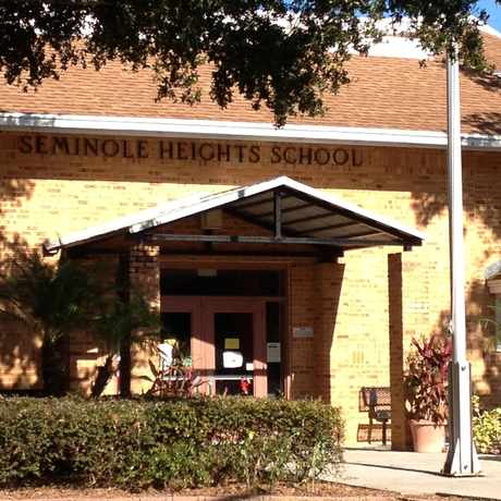 Photo of Seminole Elementary School in Old Seminole Heights, Tampa