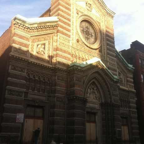 Photo of St Aloysius Church in Central Harlem, New York