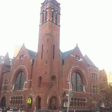 Photo of Salem United Methodist Church in Central Harlem, New York