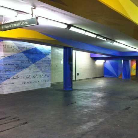 Photo of 14th & 15th Street Concourse in Logan Square, Philadelphia