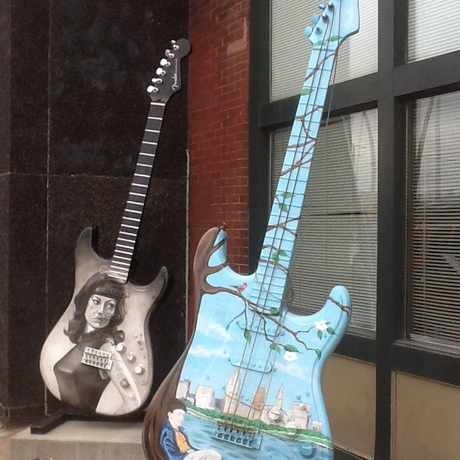 Photo of Guitars in Downtown, Cleveland