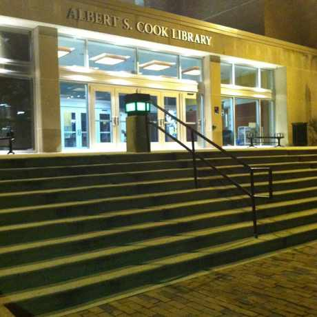 Photo of Albert S Cook Library in Towson