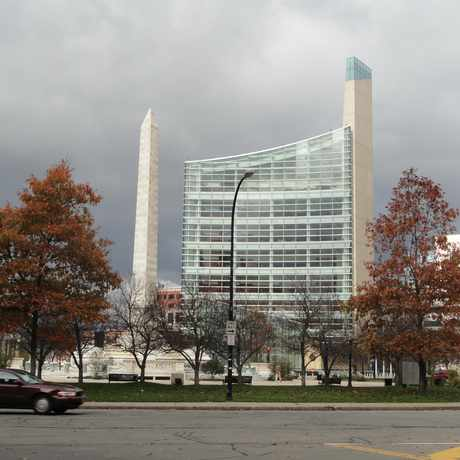 Photo of US Federal Courthouse in Central Business District, Buffalo