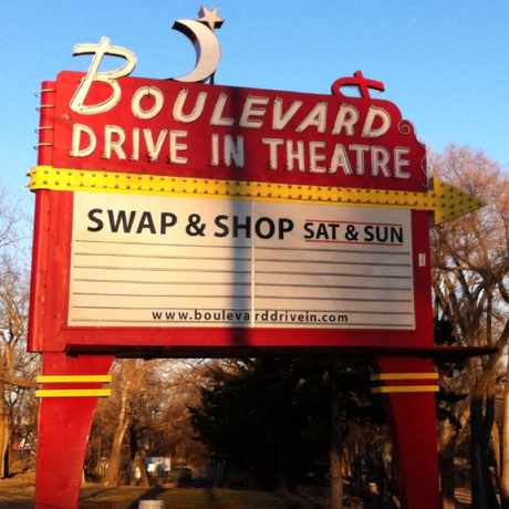 Photo of Boulevard Drive-In Theatre in Kansas City