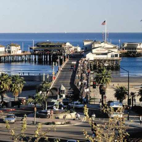 Photo of Stearns Wharf in Santa Barbara