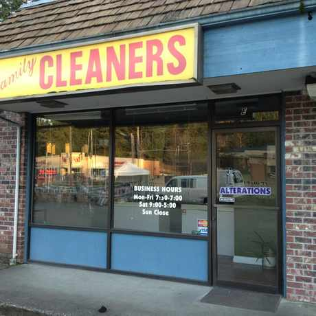 Photo of Family Dry Cleaners in Cottage Lake