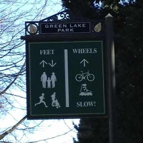 Photo of Greenlake Parking Lot in Green Lake, Seattle