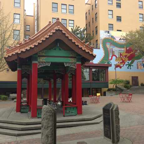 Photo of Hing Hay Park in International District, Seattle