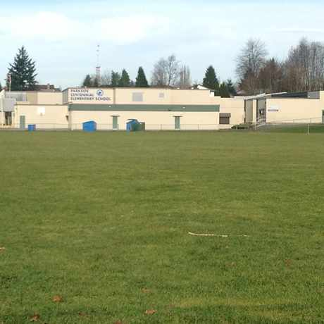 Photo of Parkside Elementary School in Langley Township