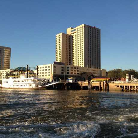 Photo of Mississippi River View in New Orleans