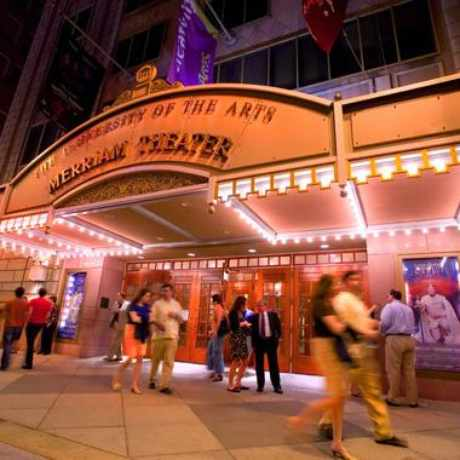 Photo of University of the Arts' Merriam Theater in Avenue of the Arts South, Philadelphia