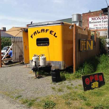 Photo of Hallava Falafel Truck in Georgetown, Seattle