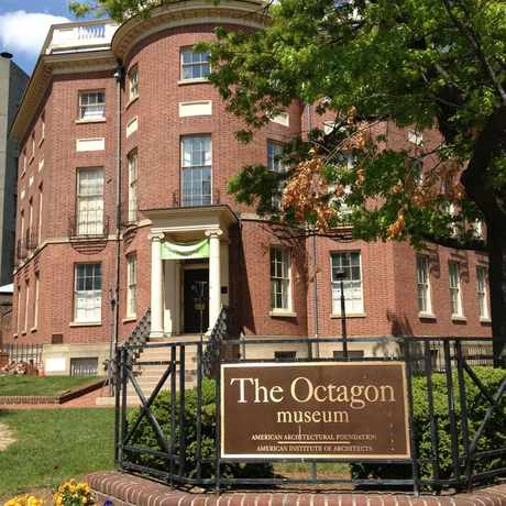 Photo of The Octagon Museum in Dupont Circle, Washington D.C.