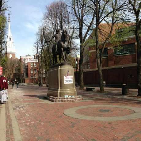 Photo of Paul Revere in Boston