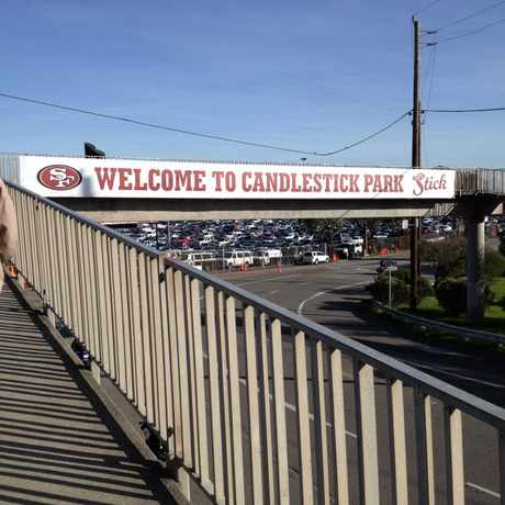 Photo of Candlestick Park in Candlestick Point State Recreation Area, San Francisco