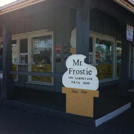 Photo of Mr. Frostie in Pacific Beach, San Diego