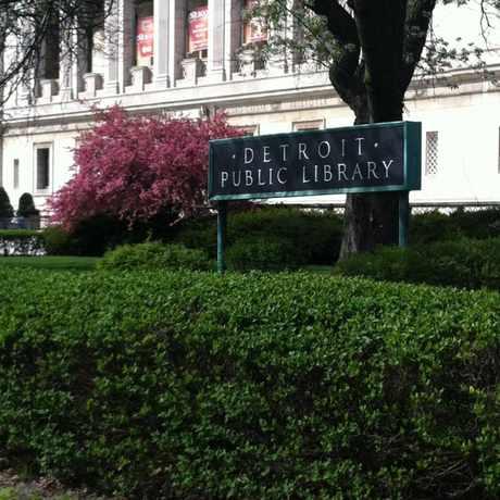 Photo of Detroit Public Library in University, Detroit