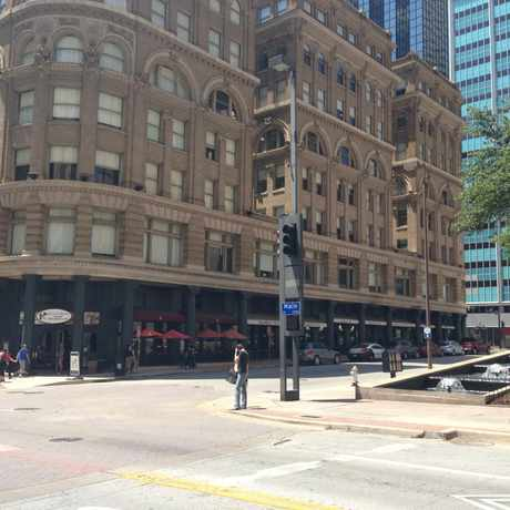 Photo of Main And Ervay Streets in Downtown, Dallas