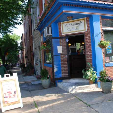 Photo of Van Gough Cafe in Upper Fells Point, Baltimore