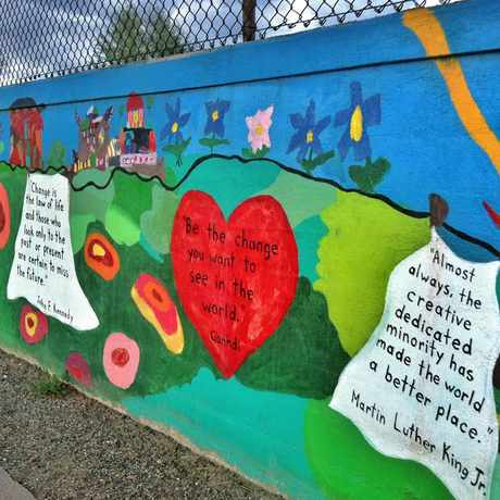 Photo of Asbury Elementary School in University, Denver