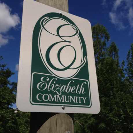 Photo of Elizabeth Community Sign in Elizabeth, Charlotte