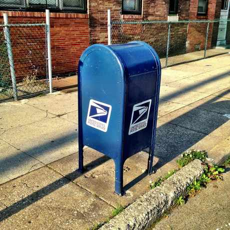 Photo of US Post Box in Carroll Park, Philadelphia