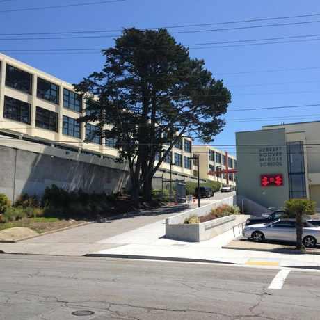 Photo of Herbert Hoover Middle School in Golden Gate Heights, San Francisco