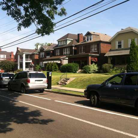 Photo of Friendship Avenue in Bloomfield, Pittsburgh