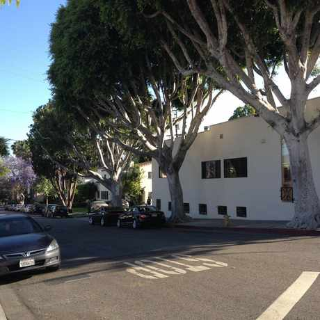 Photo of Santa Monica/Alfred Street in West Hollywood