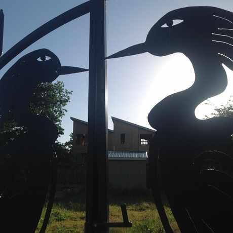 Photo of Outdoor Metal Sculpture in Humboldt, Portland