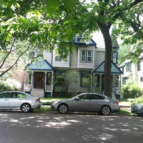 Photo of 55th Street & Blackstone in Hyde Park, Chicago