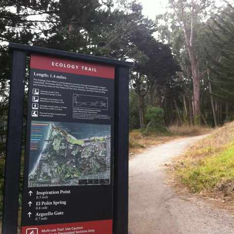 Photo of Ecology Trail in Presidio National Park, San Francisco