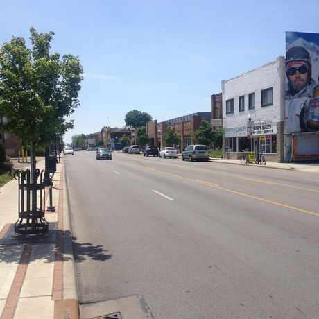 Photo of High Street in Columbus