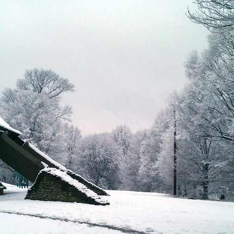 Photo of Hogan's Fountain Pavilion, Cherokee Park in Cherokee Seneca, Louisville-Jefferson