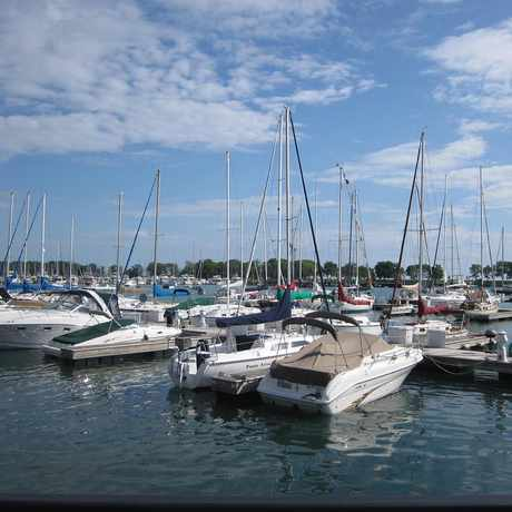 Photo of Belmont Harbor in Lakeview, Chicago