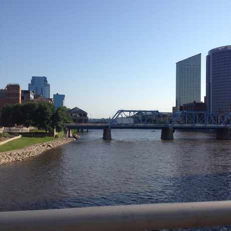 Photo of Grand River in Grand Rapids