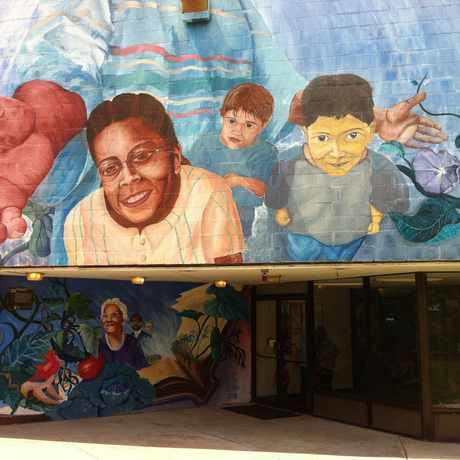 Photo of Cooper Community Center in Lower Roxbury, Boston