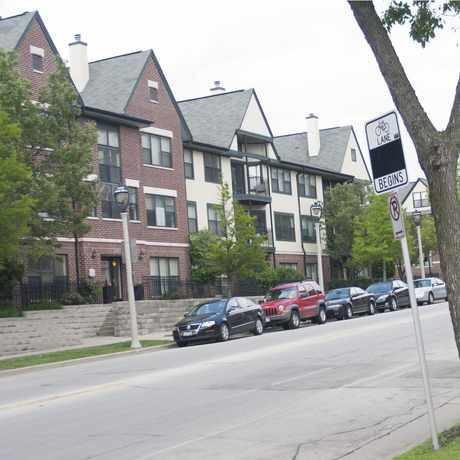 Photo of Ogden St in Lower East Side, Milwaukee