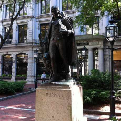 Photo of Winthrop Square in Downtown, Boston