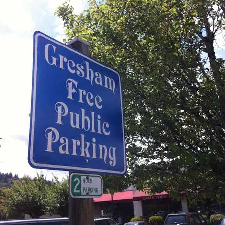 Photo of Free Parking in Gresham