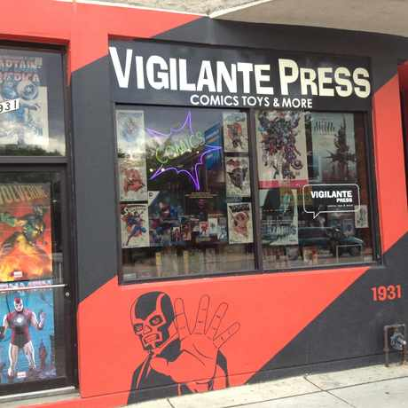 Photo of Vigilante Press in West Town, Chicago