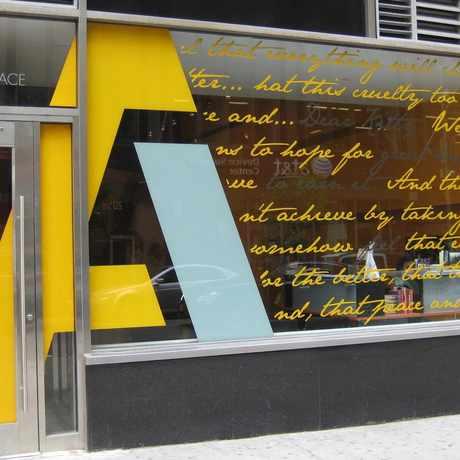 Photo of Anne Frank Center in Tribeca, New York