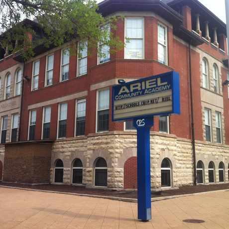 Photo of Ariel Elementary Community Academy in Bronzeville, Chicago