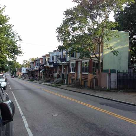 Photo of Chelten Av & Wister St in East Germantown, Philadelphia
