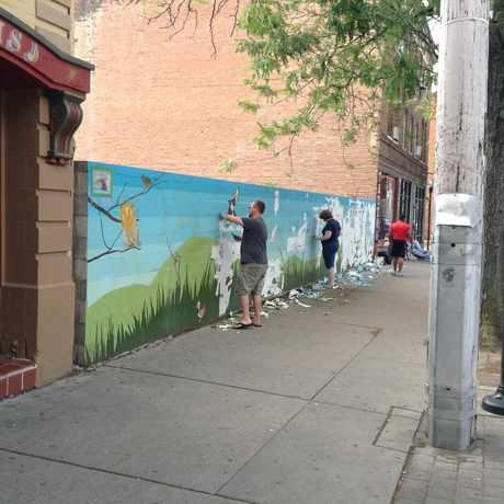 Photo of Short vine Mural Wall in Corryville, Cincinnati