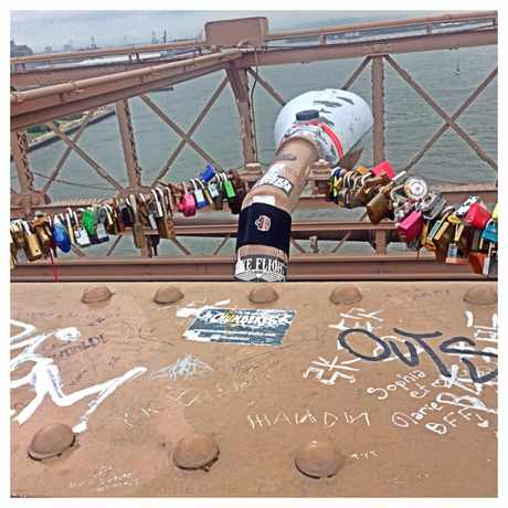 Photo of Brooklyn Bridge Art in Civic Center, New York